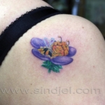 Mini funny tattoo 109