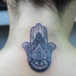 Mini funny tattoo 111