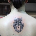 Mini funny tattoo 127