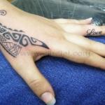 Mini funny tattoo 11
