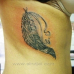 Mini funny tattoo 131