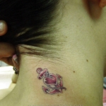 Mini funny tattoo 136
