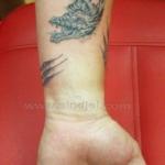 Mini funny tattoo 137