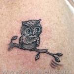 Mini funny tattoo 139