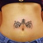 Mini funny tattoo 140