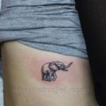 Mini funny tattoo 145