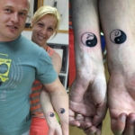 Mini funny tattoo 156
