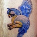 Mini funny tattoo 18