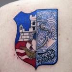 Mini funny tattoo 28