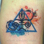 Mini funny tattoo 31