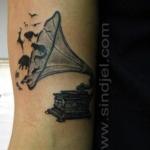 Mini funny tattoo 2