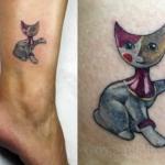 Mini funny tattoo 43