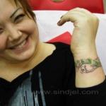 Mini funny tattoo 52