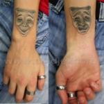 Mini funny tattoo 54