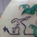 Mini funny tattoo 55
