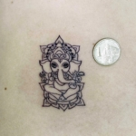 Mini funny tattoo 4