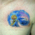 Mini funny tattoo 84