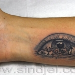 Mini funny tattoo 96