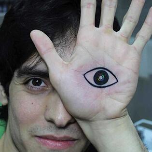 Mini funny tattoo 163